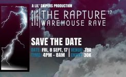 Pete Pete The Rapture '17 – Warehouse Rave