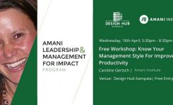 Amani Leadership & Management Programme – Taster Session